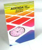 Agenda scolaire primaire 2013/14